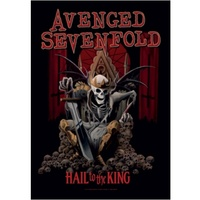 Avenged Sevenfold Hail To The King Poster Flag