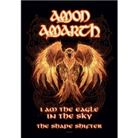 Amon Amarth Burning Eagle Poster Flag