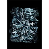 Slipknot Broken Glass Poster Flag