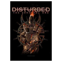 Disturbed The Vengeful One Poster Flag