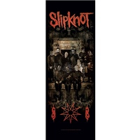 Slipknot Crest Door Poster Flag