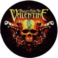 Bullet For My Valentine Pistols Back Patch