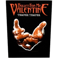 Bullet for My Valentine Temper Temper Back Patch