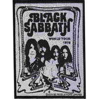 Black Sabbath Band Patch