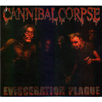 Cannibal Corpse Evisceration Plague CD+DVD Digi Book Pack