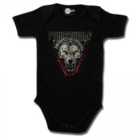 Powerwolf Wolf Icon Baby Bodysuit