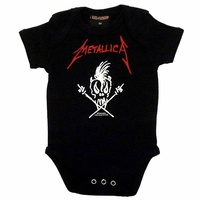 Metallica Scary Guy Baby Bodysuit