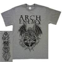 Arch Enemy Cthulhu Grey Shirt