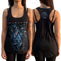 Amaranthe Helix Racerback Organic Cotton Ladies Tank Top