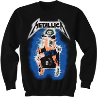 Metallica Electric Chair Crewneck Sweatshirt