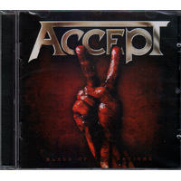 Accept Blood Of The Nations CD