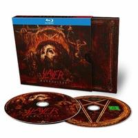 Slayer Repentless CD Blu-ray Ltd Digipak
