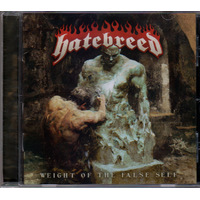 Hatebreed Weight Of The False Self CD