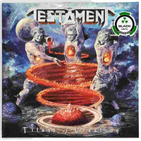 Testament Titans Of Creation 2 LP Black Vinyl Record