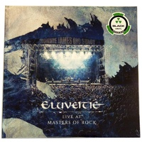 Eluveitie Live At Masters Of Rock 2 LP Vinyl Record Ltd Edition