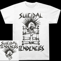 Suicidal Tendencies Mohawk Skull Shirt