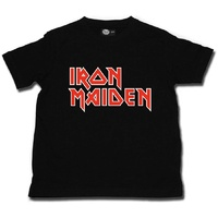 Iron Maiden Logo Kids T-shirt 2-15 Years