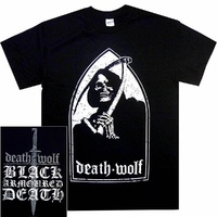 Death Wolf Black Armoured Death Shirt