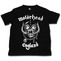 Motorhead England Kids T-shirt 2-13 Years