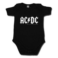 AC/DC Logo Baby Bodysuit (Choice of 4 colours)