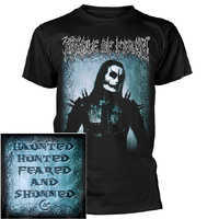 Cradle Of Filth Haunted Hunted Feared & Shunned Shirt