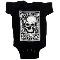 Avenged Sevenfold Skull Patch Baby Bodysuit
