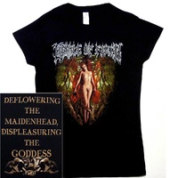Cradle Of Filth Deflowering The Maidenhead Ladies Shirt