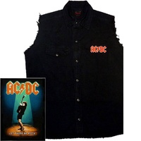 AC/DC Let There Be Rock Sleeveless Work Shirt