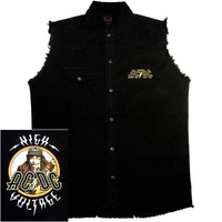 AC/DC High Voltage Angus Sleeveless Work Shirt
