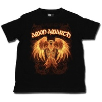 Amon Amarth Burning Eagle Kids T-shirt 2-13 Years