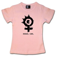 Arch Enemy Rebel Girl Kids T-shirt 2-13 Years (Available In 2 Colours)