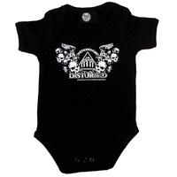 Disturbed Logo Baby Bodysuit