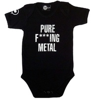 Arch Enemy Pure F***ing Metal Baby Bodysuit (Choice of 4 colours)