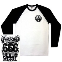 Aborted 666 Death Metal Baseball Shirt