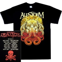 Alestorm Piratefest 2015 Australian Tour Shirt