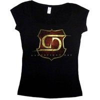 Damnations Day Girls Scoop Neck Shirt