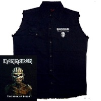 Iron Maiden Book Of Souls Sleeveless Work Shirt