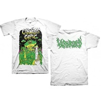 Cannabis Corpse Vaporized White Shirt