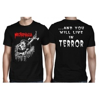 Necrophagia Anchor Terror Shirt
