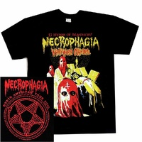 Necrophagia Occult Necro Tour Shirt