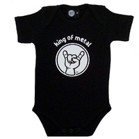 King Of Metal Baby Bodysuit (Choice of 3 colours)