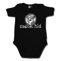 Metal Kid Vintage Baby Bodysuit (Choice of 4 colours)