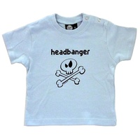 Headbanger Baby Shirt 0-18 Months (choice of 4 sizes)