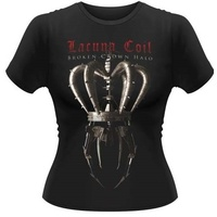 Lacuna Coil Broken Crown Halo Girls Shirt