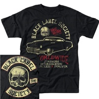 Black Label Society Hell Riding Hot Rod Shirt