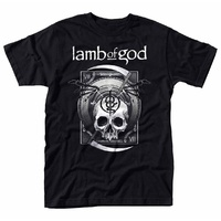 Lamb Of God Sickle Skull Shirt