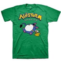 Alestorm Drink 'Em All Green Shirt
