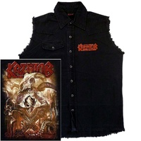 Kreator Gods Of Violence Sleeveless Work Shirt