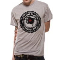 Rage Against The Machine Bulls Grey Shirt