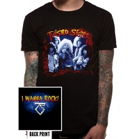 Twisted Sister I Wanna Rock Shirt